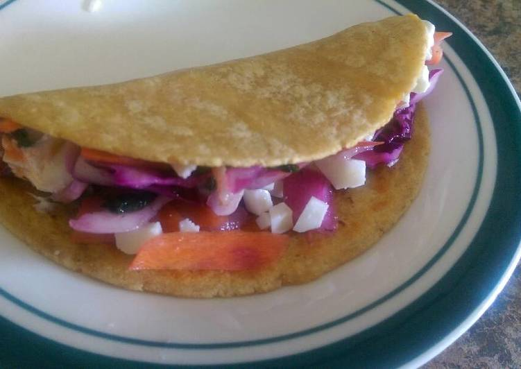 Recipe of Speedy Mexi-Cali grilled fish tacos