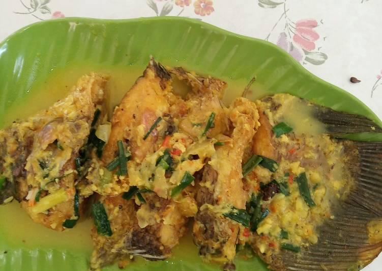 Gurami kuah kuning / gurami acar kuning - cookandrecipe.com