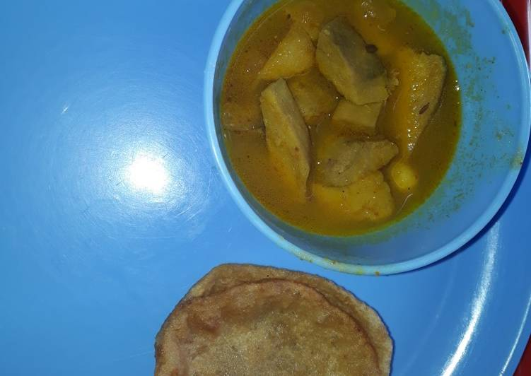 Recipe of Top-Rated Elephant foot yam / suran curry