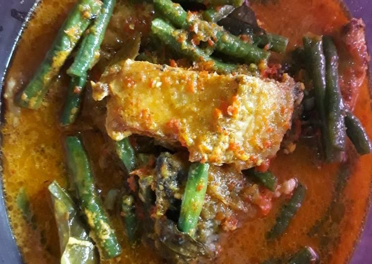 Gulai Rawit Ikan Gurami Goreng