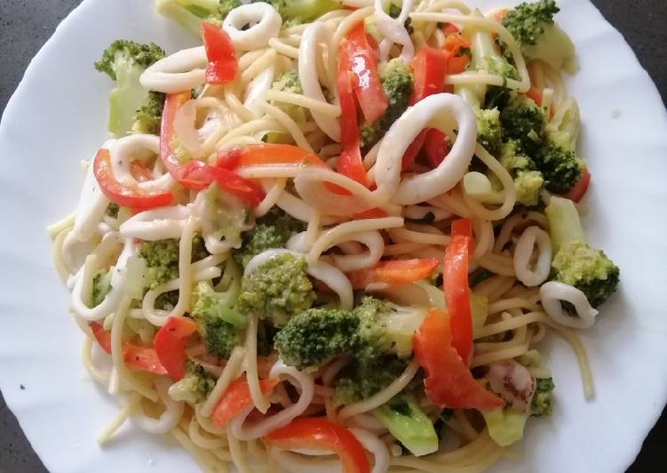 Broccoli Spag