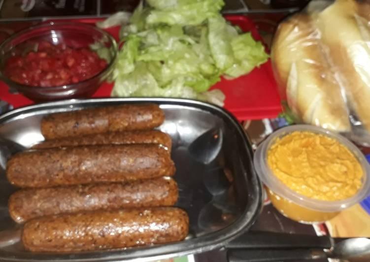 Chorizo Vegetariano Receta De Yasminit Caron Cookpad
