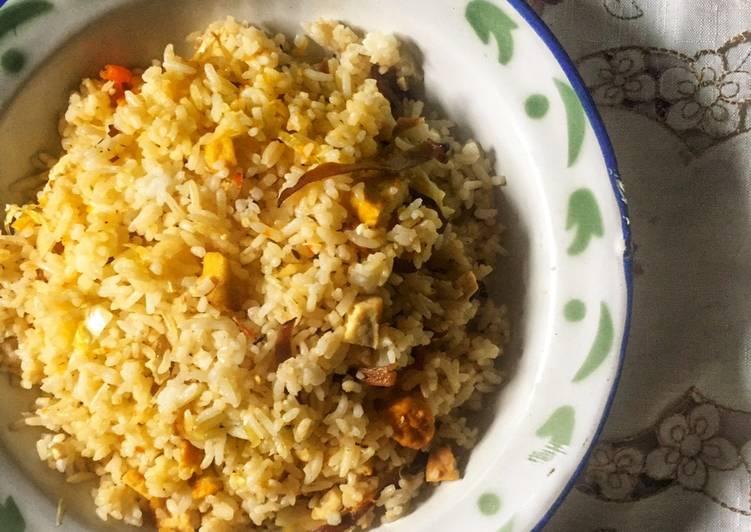 Nasi Goreng Jamur Kuping Pedas