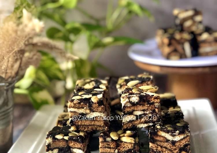 Resepi:  Kek Batik Simple