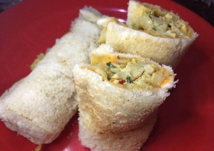 Roti Gulung Telor Orak Arik Rice Cooker (Diet + Sederhana)