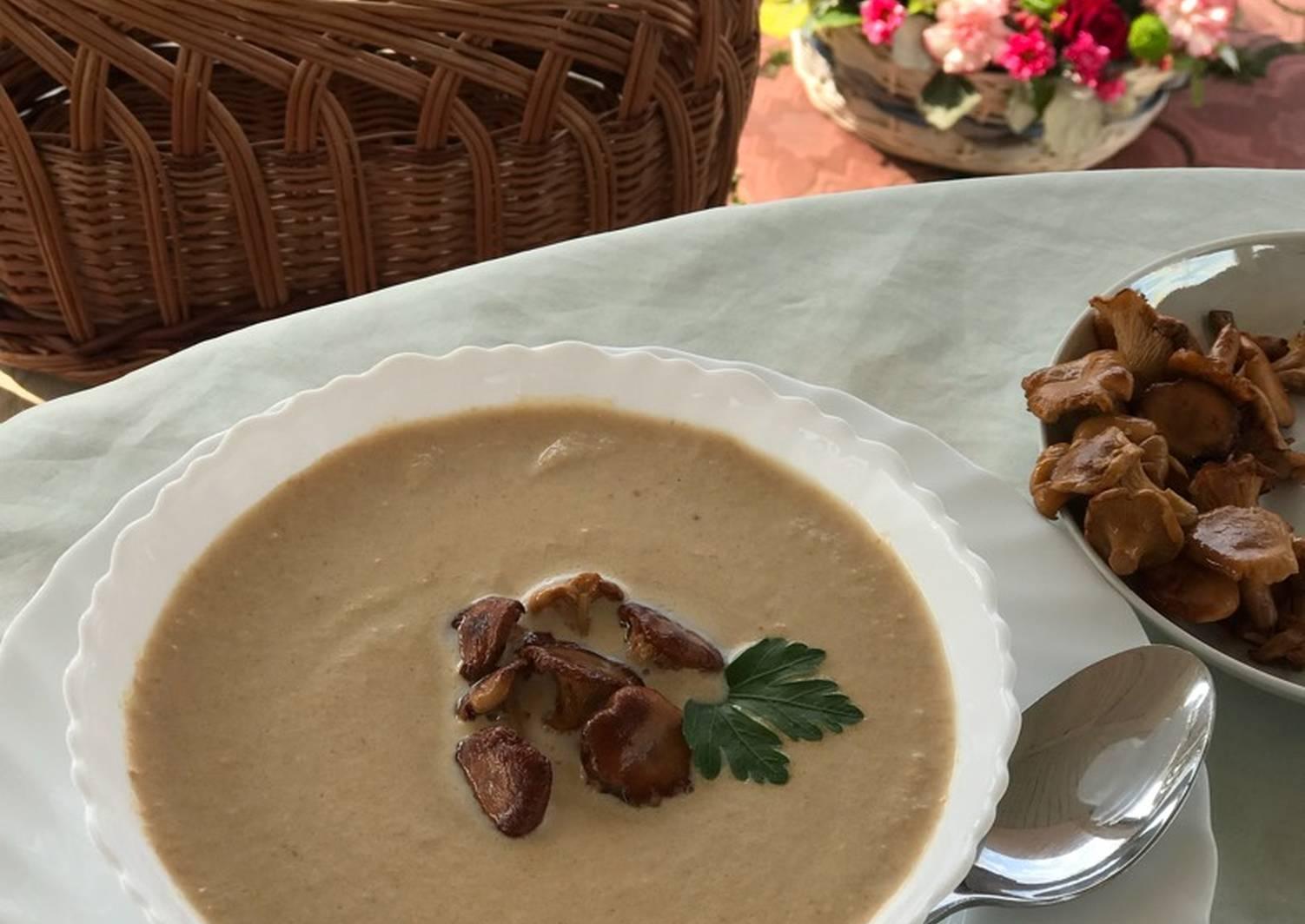 крем суп из лисичек рецепт с фото фриске говорит