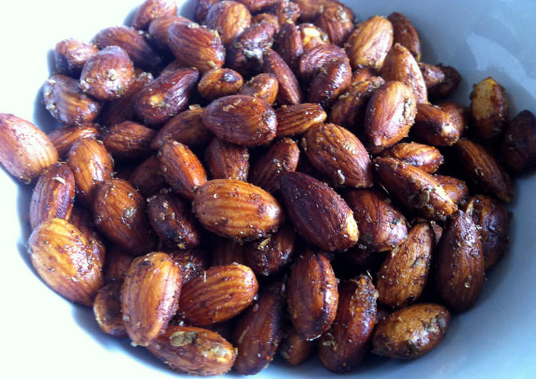Recipe of Favorite Spicy Almonds