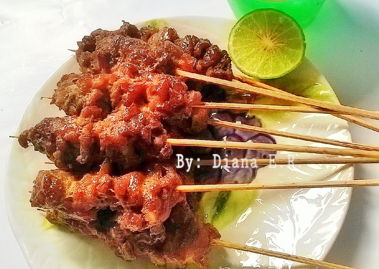 Resep Sate Kambing Cincang Bumbu Simple Favorit