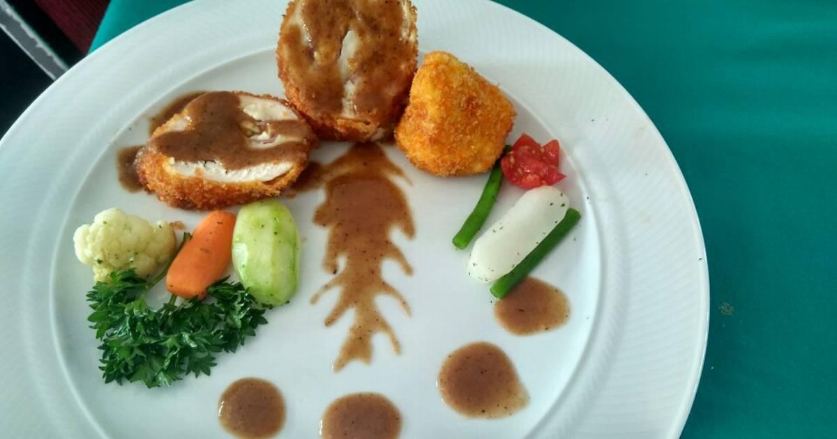 Resep Chicken Cordon Bleu Oleh Yusnia Rokhmawati Cookpad