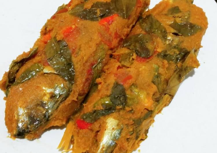 Pepes Ikan Kembung 😋