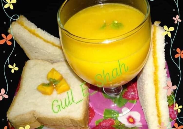 Simple Way to Prepare Perfect Fresh Mango Juice