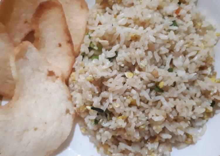 Resep Nasi Goreng Putih Sederhana Resep Nasi