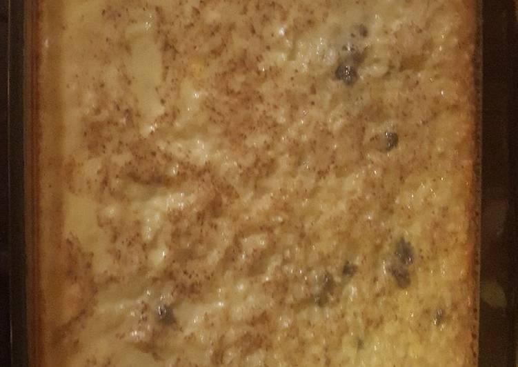 Custard Rice Pudding