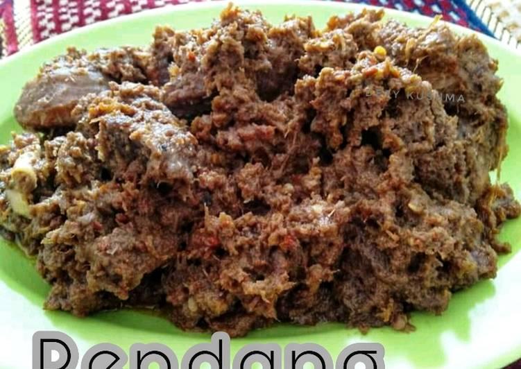 102. Rendang Daging khas Padang