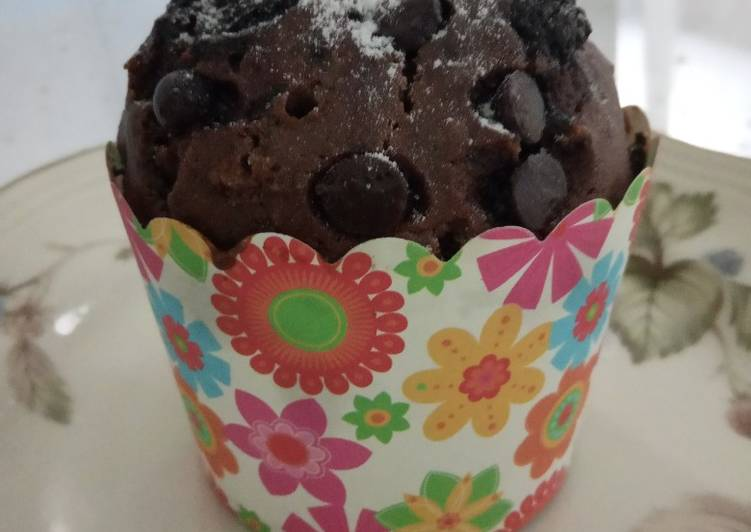 Coklat muffins