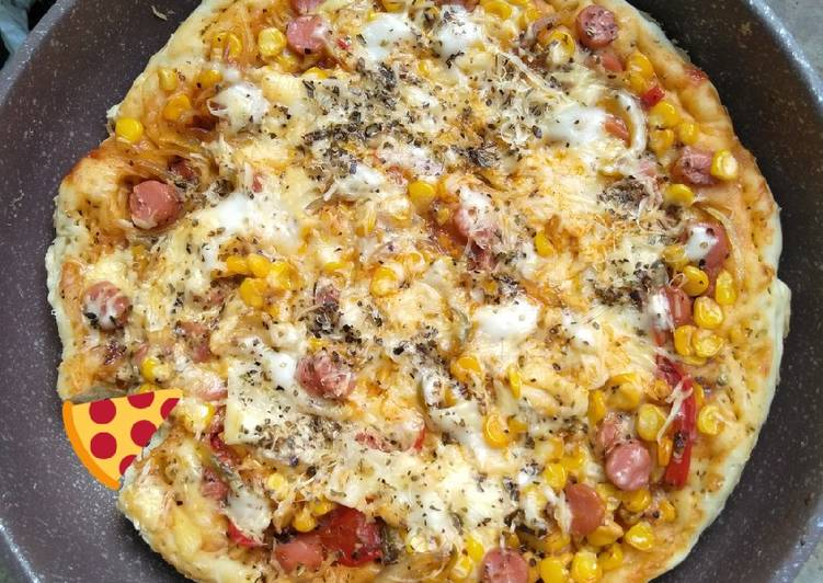 Pizza teflon lada hitam