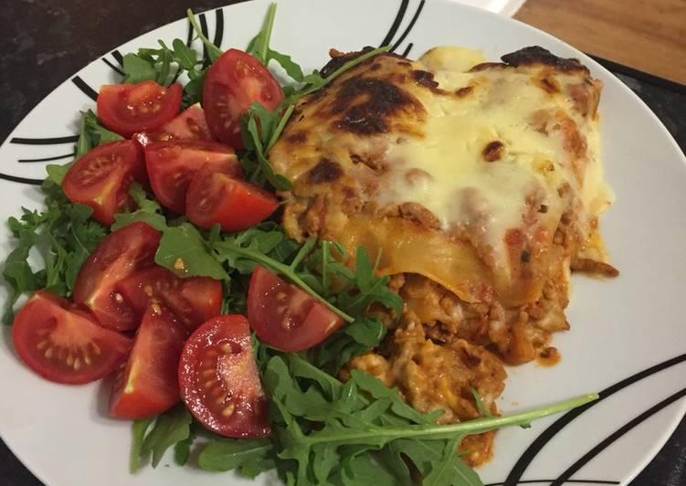 Recipe of Top-Rated Lasagne