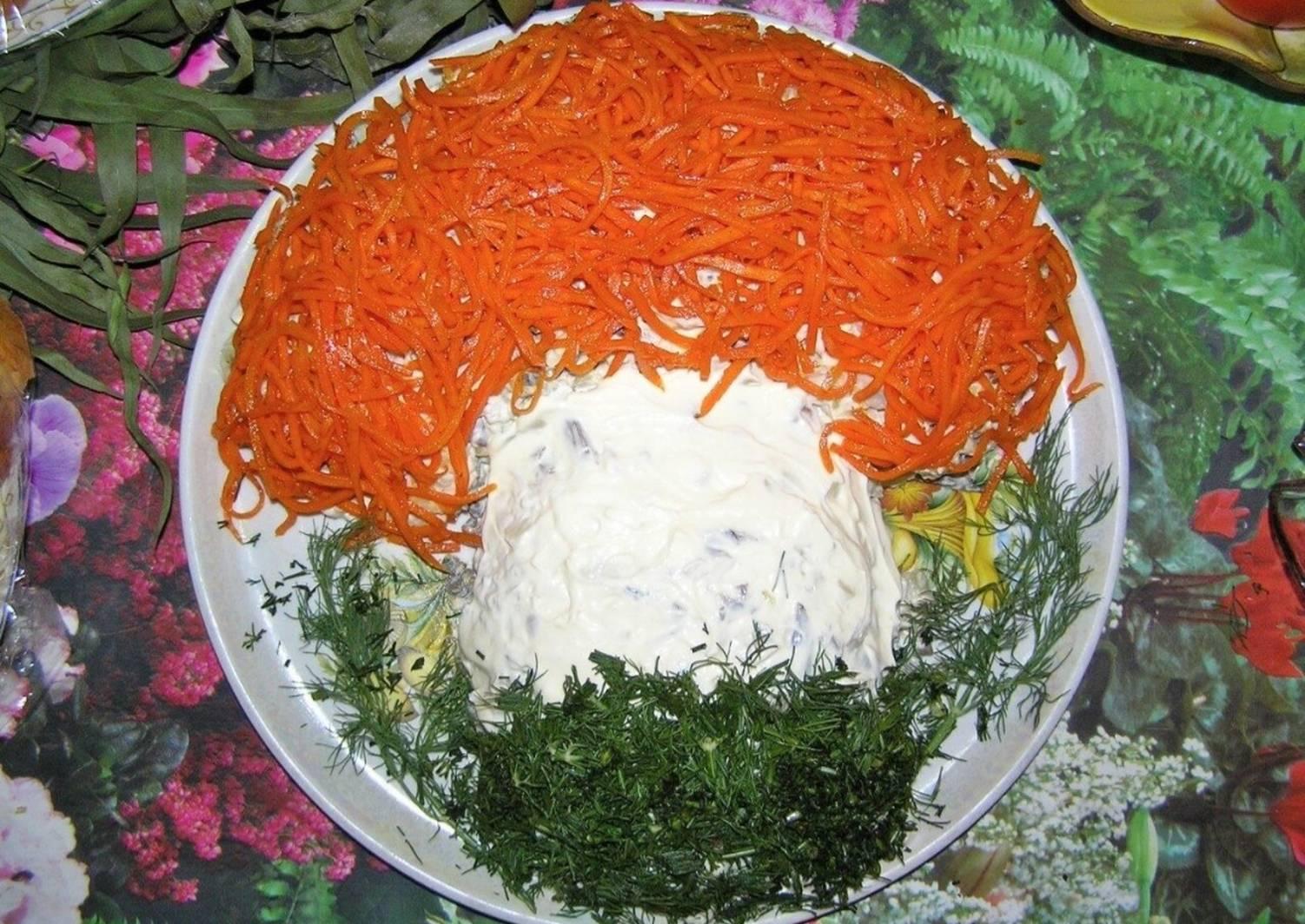 при салат в форме гриба рецепт с фото региональной прессы сообщения