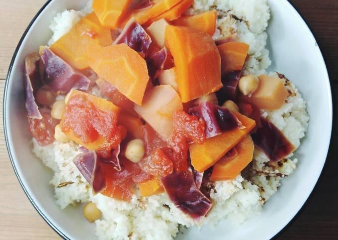 Couscous de legumes