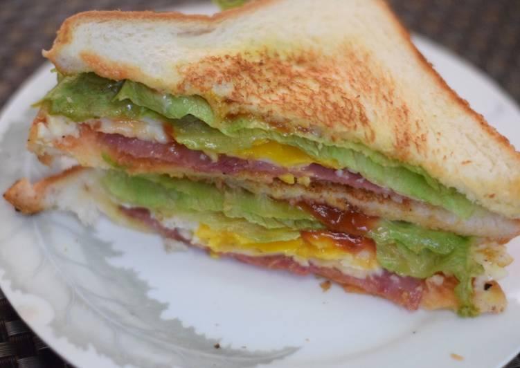 Resep Breakfast Sandwich Terenak
