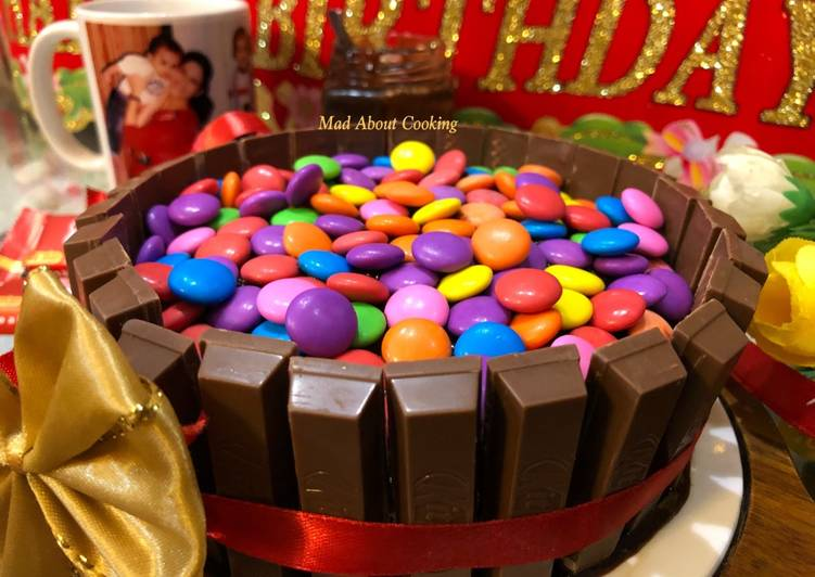 Easiest Way to Prepare 2021 Choco Coffee Kit Kat Cake – It's Our Son's Birthday