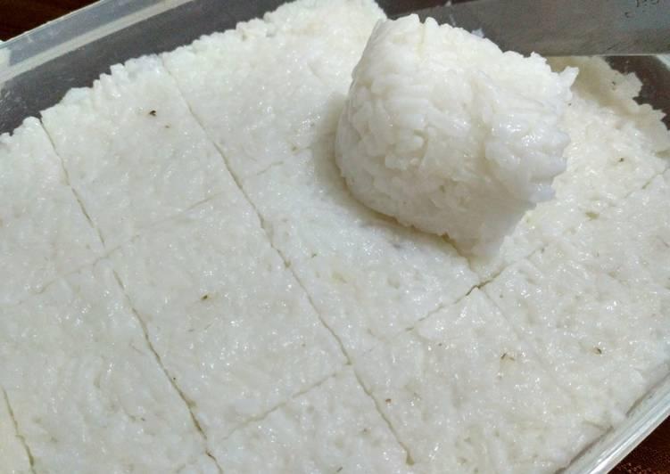 Ketupat/lontong rice cooker