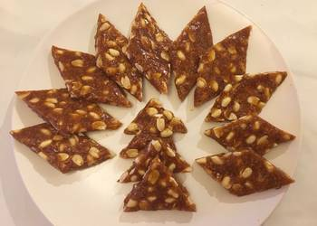 Easiest Way to Cook Appetizing Peanut and coconut barchikki