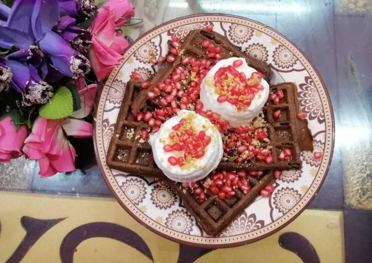 Perfect Chocolate Waffles
