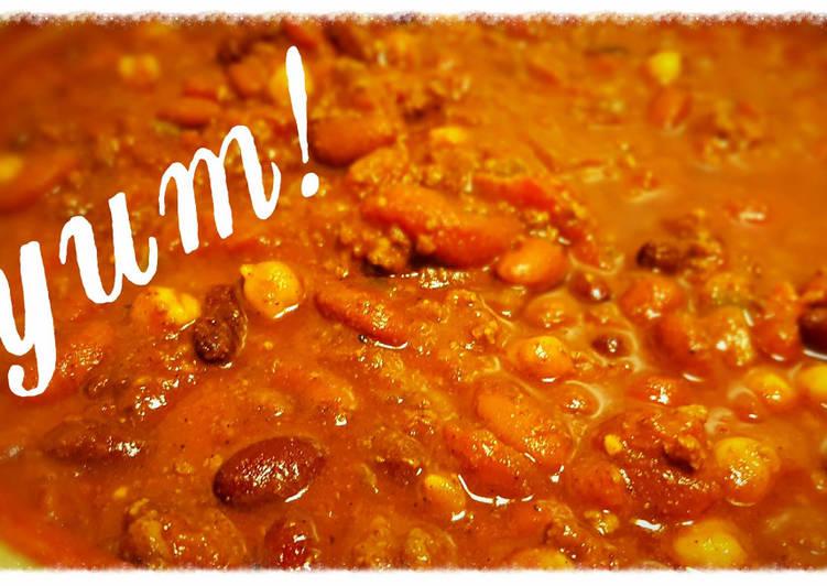 ~Shamrock's~ 3 Bean Chili