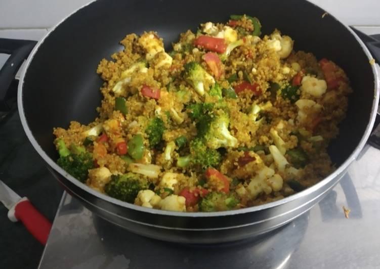 Recipe of Award-winning Quinoa Pulav