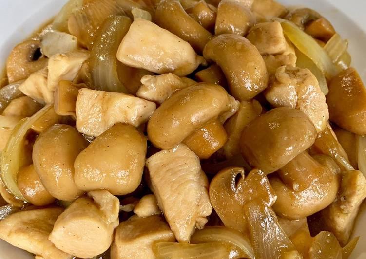 Cah Ayam Jamur