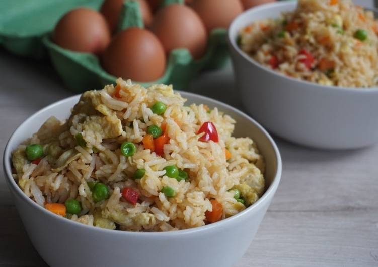 Recipe of Any-night-of-the-week Egg Fried rice