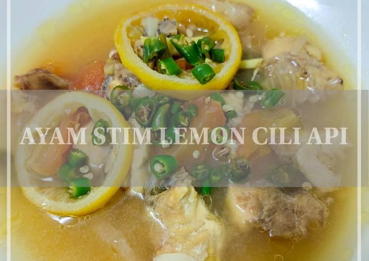 Ayam Stim Lemon Cili Api - velavinkabakery.com