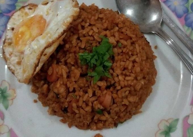 Nasi Goreng Jawa Tengah malam ala valentcia
