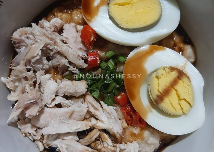 Bubur Ayam Oatmeal