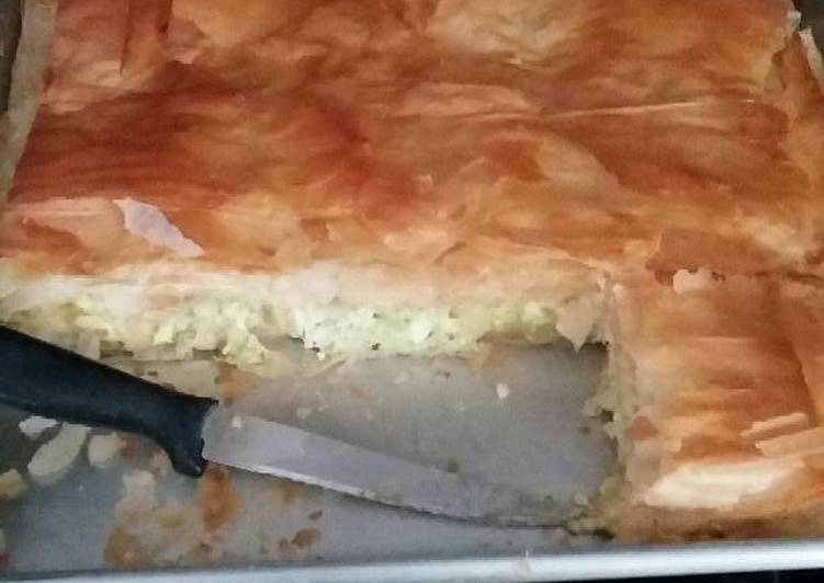Going Green for Greater Health By Consuming Superfoods Tiropita/ Cheese pie