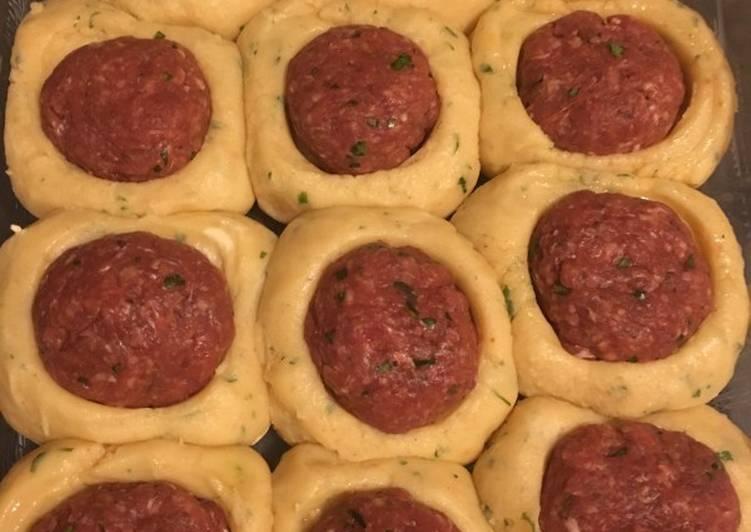 Les Meilleures Recettes de Gratin de puree au boulettes de viande hachée