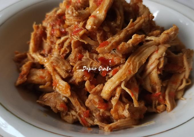Ayam Suwir Pedas Manis 🔥