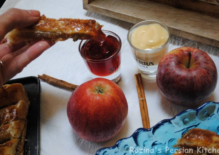 Easiest Way to Make Any-night-of-the-week Apple pie fingers