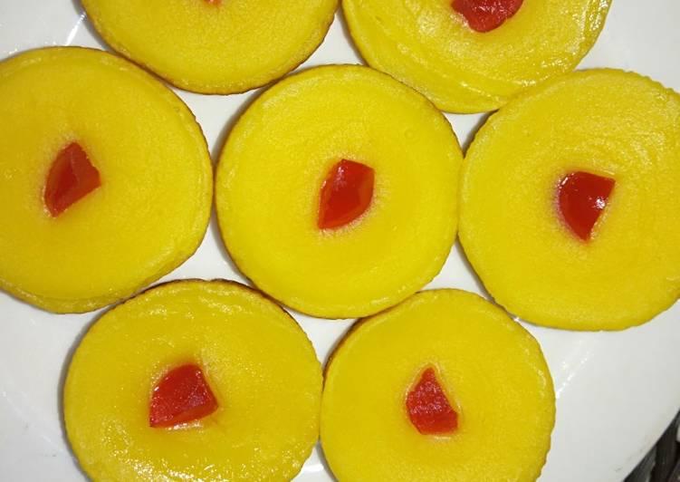 Lumpur labu kuning tanpa telur