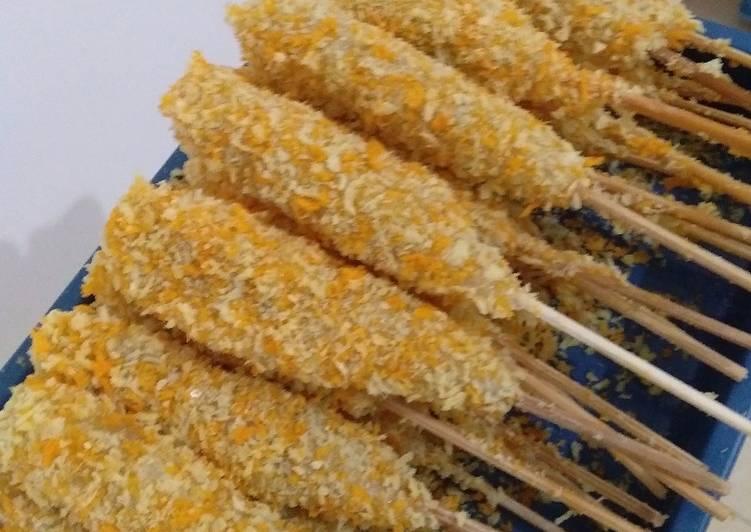 Sempol Ayam Crispy versi ekonomis untuk jualan