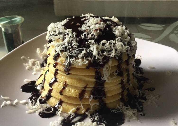 Resep Pancake simple Paling Enak