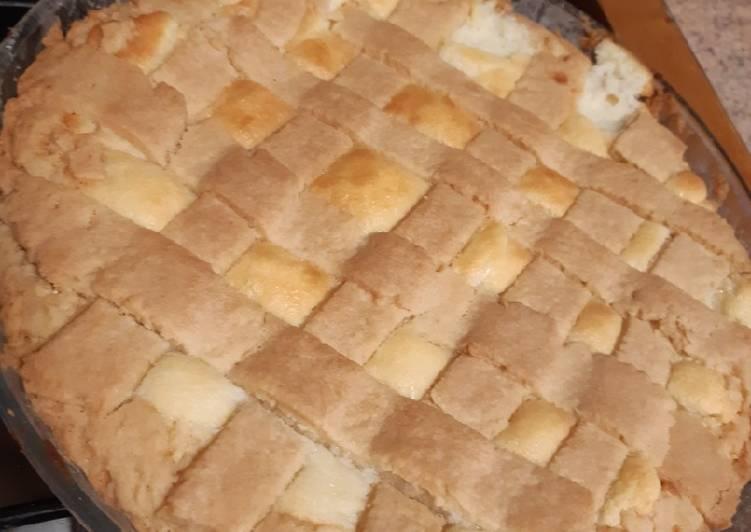 Ricetta Crostata di ricotta e cioccolato bianco