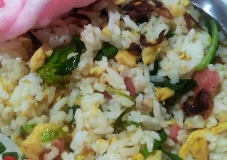 Nasi Goreng Kampung no ribet