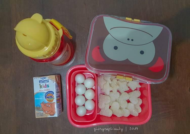 Resep Bekal Anak TK – Roti dan Telur Puyuh (simple dan sehat) Top