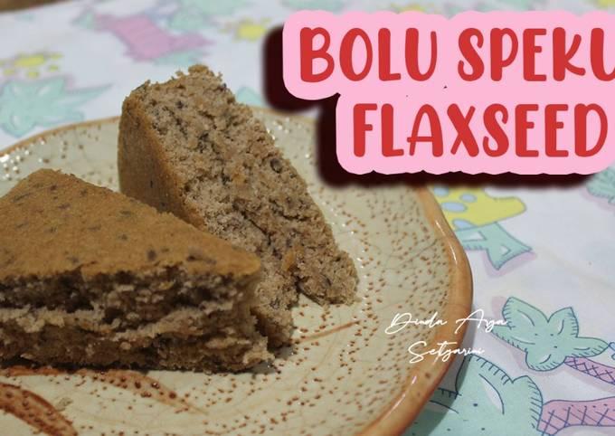 Resep Bolu Spekuk Flaxseed / Bolu Spekoek, Bikin Ngiler