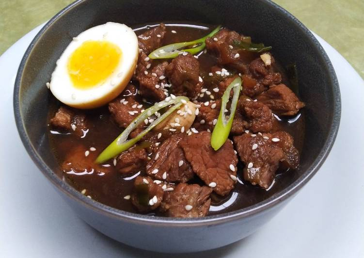 Beef Braised Soy Sauce