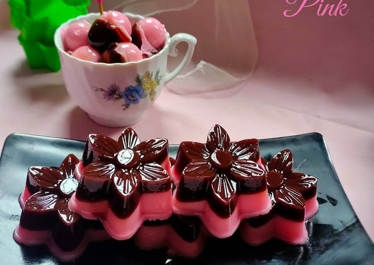 Jelly Chocolate Pink