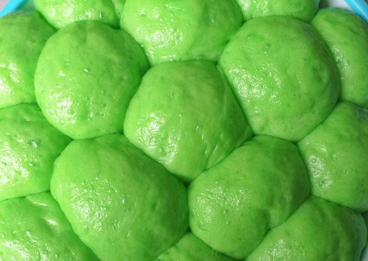 Roti Sobek Pandan Kukus (Eggless) #102³