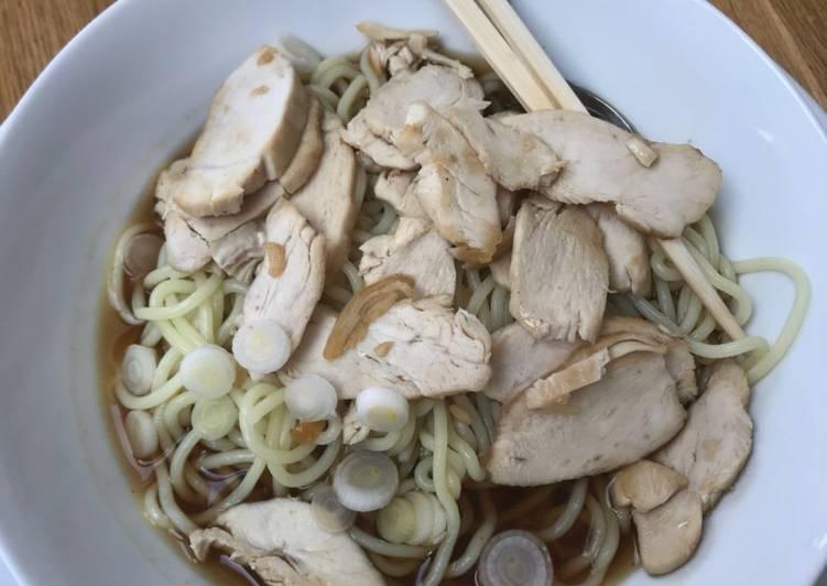Simple Way to Prepare Perfect Easy chicken ramen